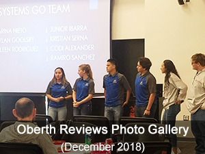 Oberth Review 2018-2019 photo gallery
