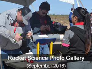 Rocket Science-September 2018 photo gallery
