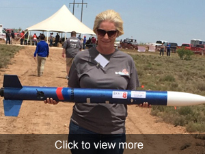 View more photos about the rocket launch