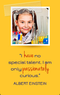 I have no special talent, I am only passionately curious- Albert Einstein