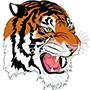 Elida Tiger logo