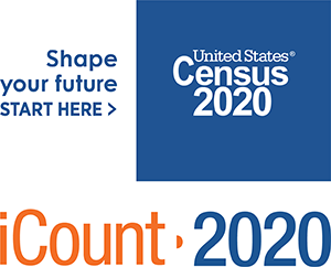 Shape your future start here> United States Census 2020 iCount-2020