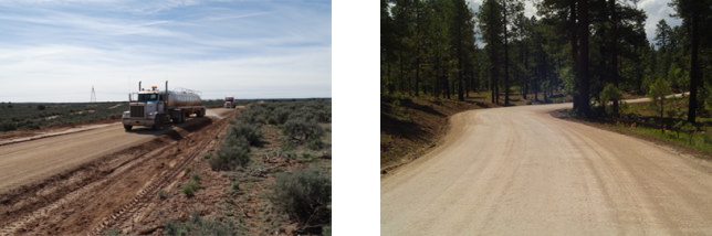 Apache County road improvements