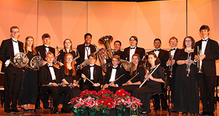 high school orchestra members