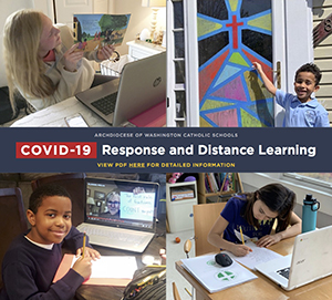 COVID-19 Response and Distance Learning Flyer