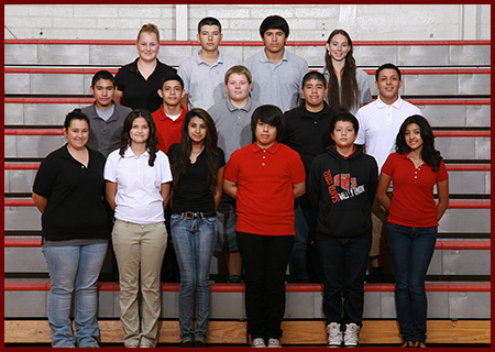 Yearbook Club group photo