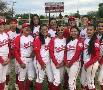 The wonderful Santa Cruz girls softball team