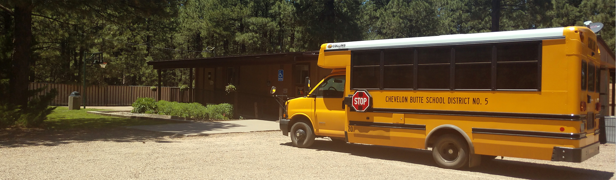 Chevelon school bus
