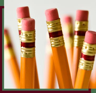 yellow number 2 pencils