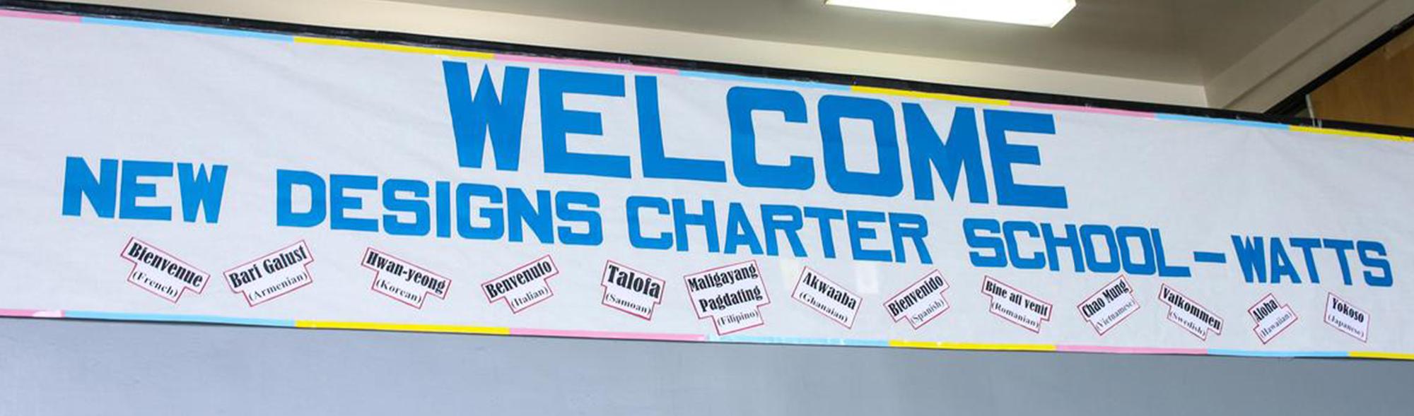 Welcome New Designs Charter School - Watts