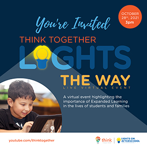 Think Together After-School Event flyer
