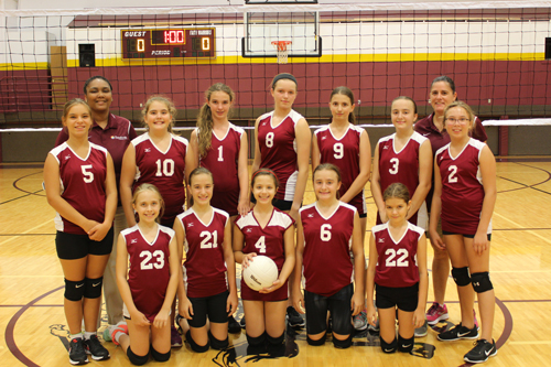 MS Volleyball Team