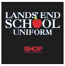 Lands End Uniform Button