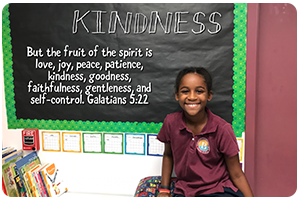 KINDNESS – But the fruit of the spirit is love, joy, peace, patience, kindness, goodness, faithfulness, gentleness, and self-control. Galatians 5:22