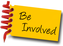 Be Involved Graphic