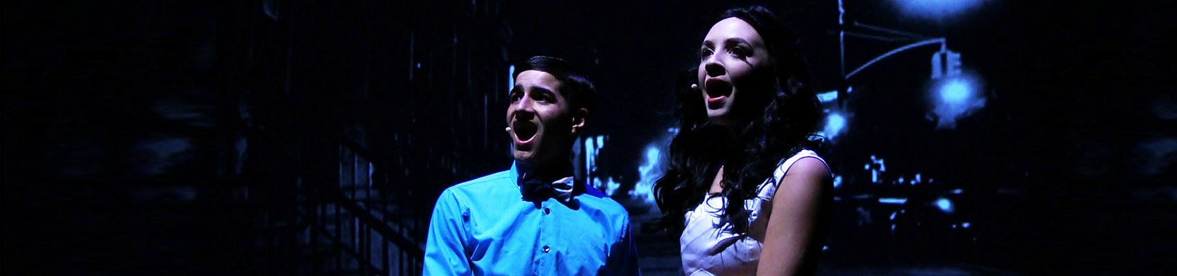 Students perform in West Side Story musical