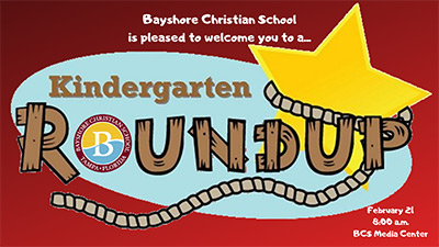 Kindergarten Roundup February 21, 2019 at 8:00 a.m.