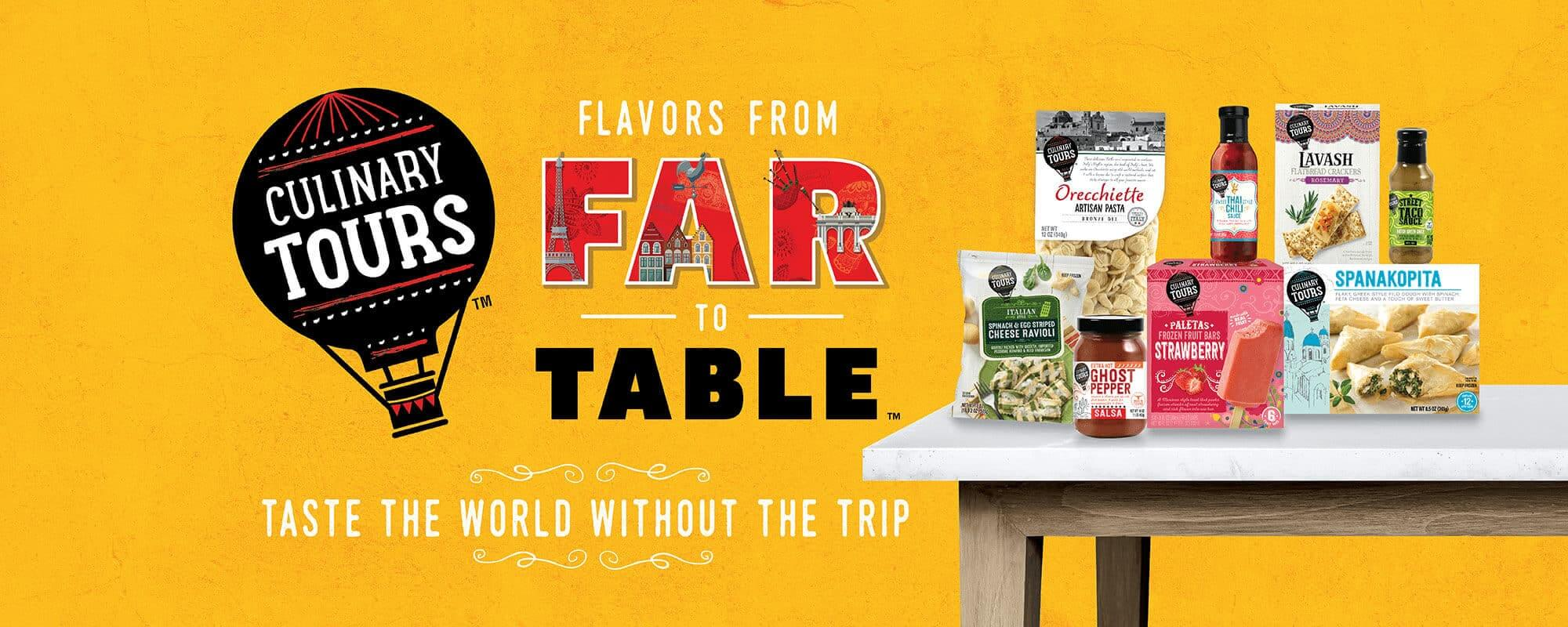 Flavors From Far to Table - Taste the world without the trip