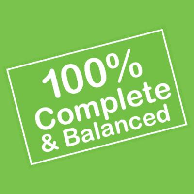 100% Complete & Balanced