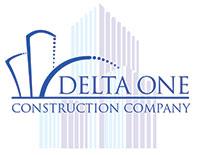 Delta One Construction Company logo