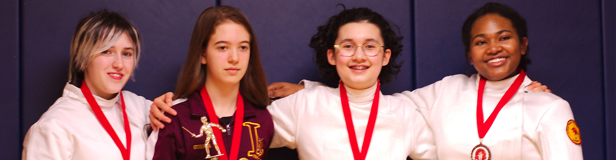 Lassiter High School Women's Fencing Team