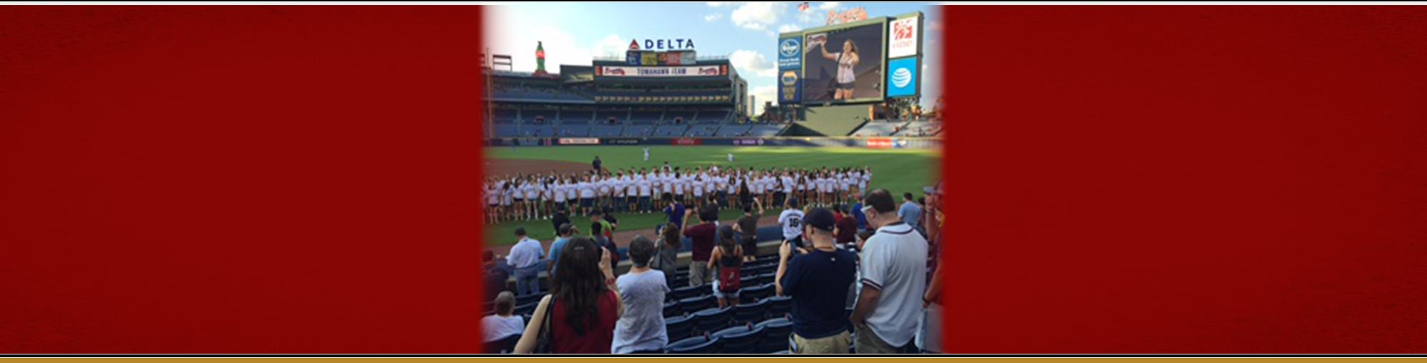 Chorus at Braves
