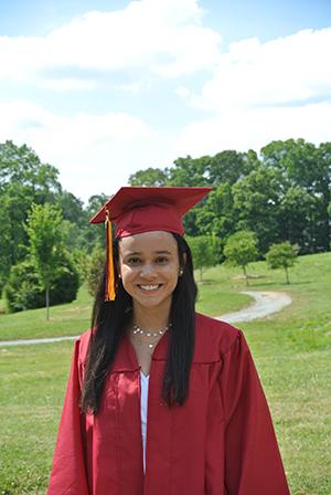 Emily Patel, Valedictorian