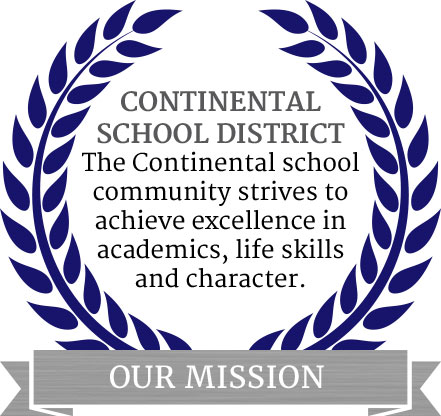 Contintental School District Mission Graphic