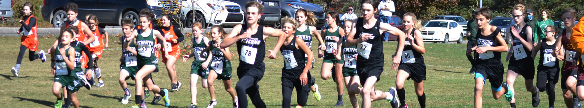 Coudersport students running cross country