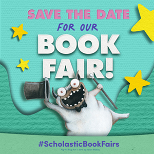 Save the date for our book fair