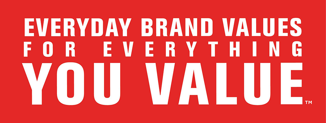 Everyday Brand Values for Everything You Value