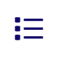 bulleted list icon