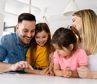 Elko county parents helping children with homework
