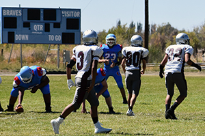 OCS team vs. Pyramid Lake football