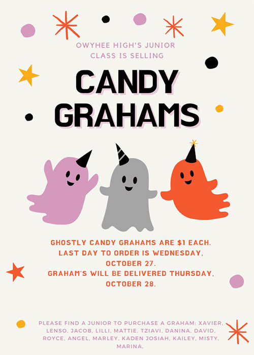 Click for Ghostly Candy Grahams flyer