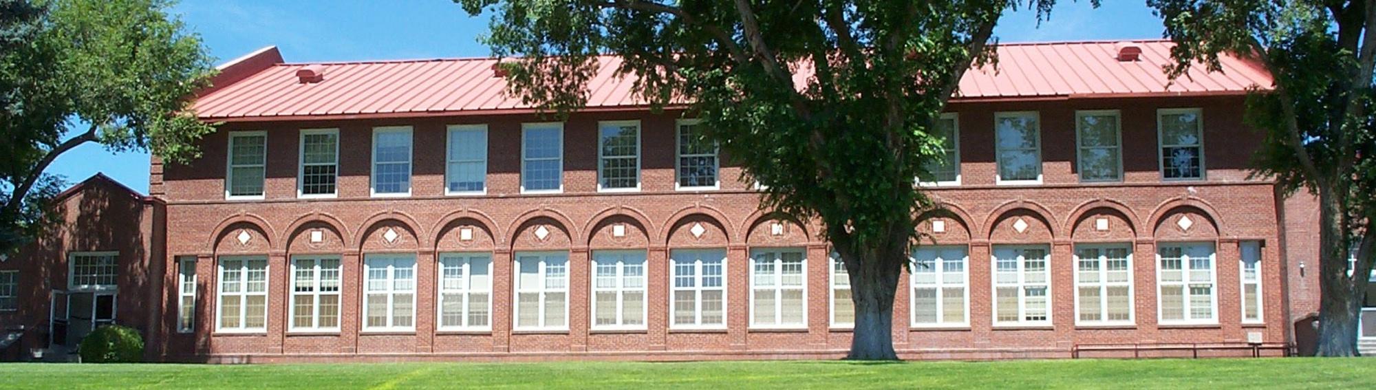 Front of Elko High School