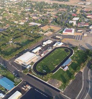 aerial view of Elko High School
