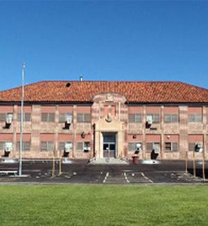 Front view of Grammar #2 Elementary School