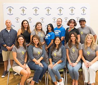gardens at Nazareth School
