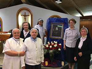 The Sisters of Nazareth celebrating Victoire's Day