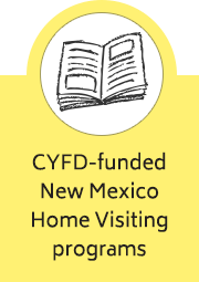CYFD-funded New Mexico Home Visiting programs