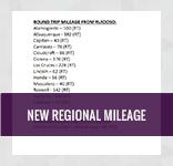 New Regional Mileage