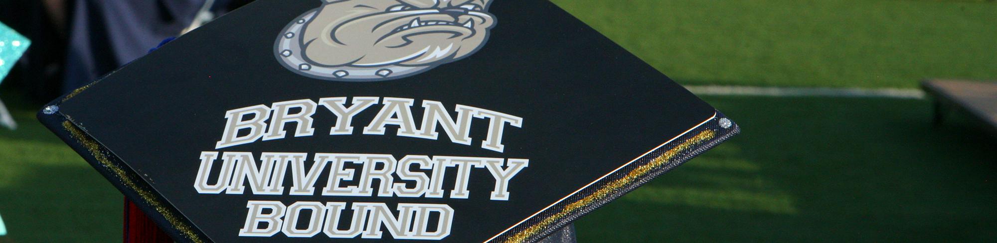 University Bound graduation cap