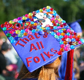 That's All Folks - graduation hat