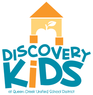 Discovery Kids at Queen Creek Unified School District logo
