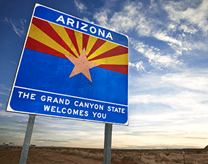 Arizona, The Grand Canyon State Welcomes You