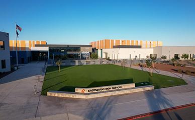Eastmark High School building