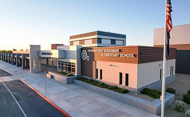 Faith Mather Sossaman Elementary School building