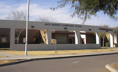 Jack Barnes Elementary School building
