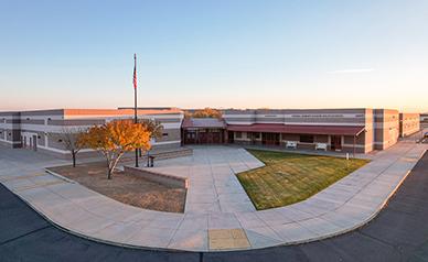 Newell Barney Junior High School building